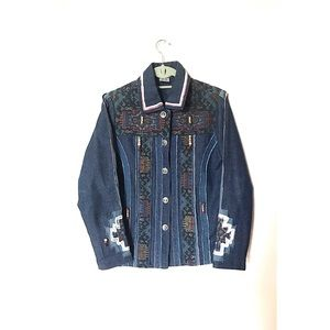 Parsley and Sage Embroidered Jacket